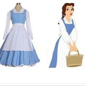 Cossky Beauty and the Beast Belle Costume Cosplay
